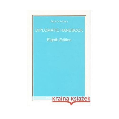 Diplomatic Handbook (9789004141421)