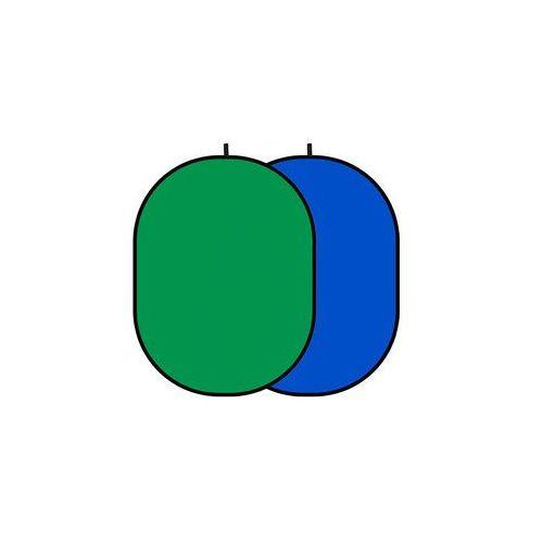 GlareOne Blenda Tło 2 w 1 zielono niebieska, 150 x 200 cm