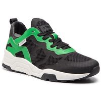 Sneakersy GUESS - Fishnet FM6FIS FAB12 BLACK/GREEN, w 3 rozmiarach