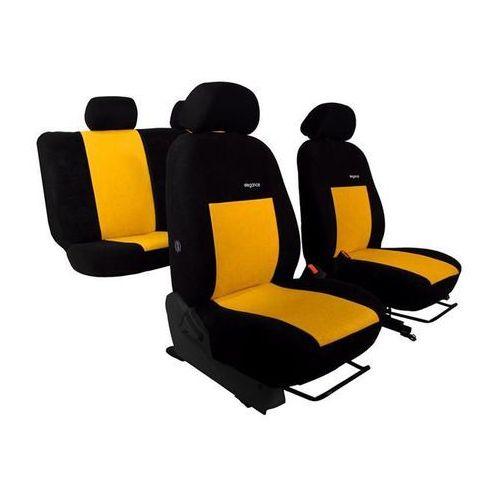 Pokrowce samochodowe ELEGANCE Żółte Renault Laguna II 2001-2007 - Żółty