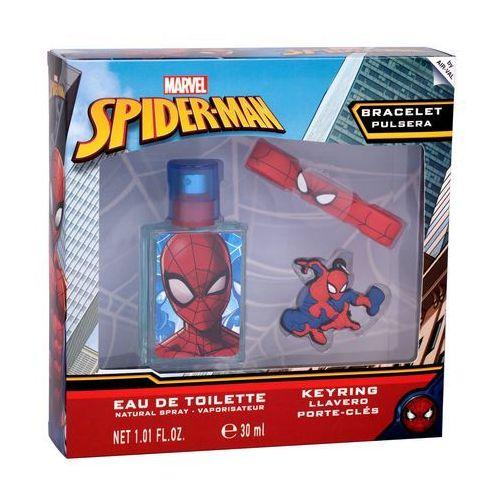 Marvel Spiderman zestaw Edt 30 ml + Breloczek + Bransoletka dla dzieci, 95746