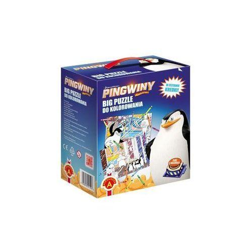 Z.p. alexander Alexander, puzzle pingwiny z madagaskaru (5906018011593)