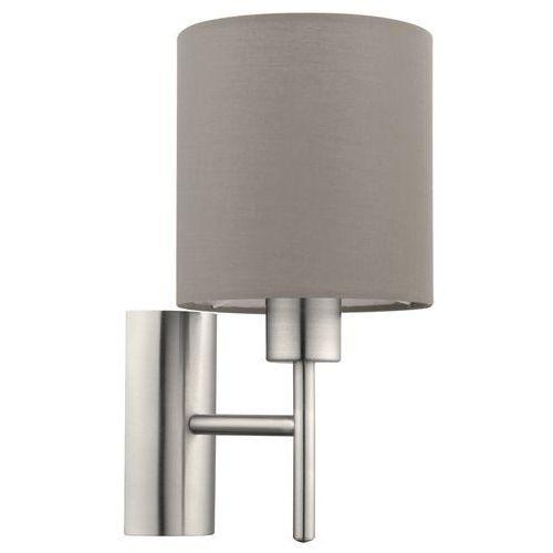 Eglo pasteri lampa kinkiet e27 1x60w 94925