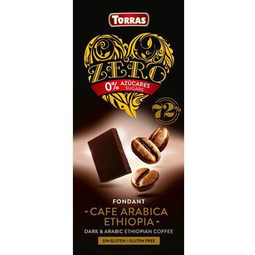 Czekolada gorzka 72% kakao z kawą bc100g marki Torras