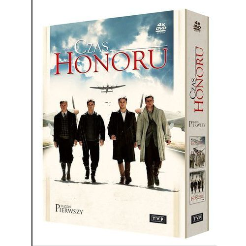 Tvp s.a. Czas honoru (sezon 1, 4 dvd) (5902600066309)