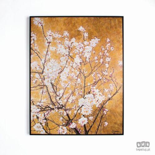 Obraz ręcznie malowany - oriental blossom 102417 marki Graham&brown