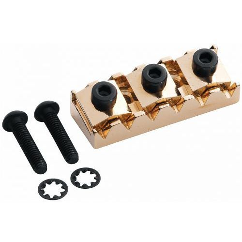 Floyd Rose Nut R4 (1 11/16″) blokada strun, złota, (rozstaw 42,8-43,3 mm)