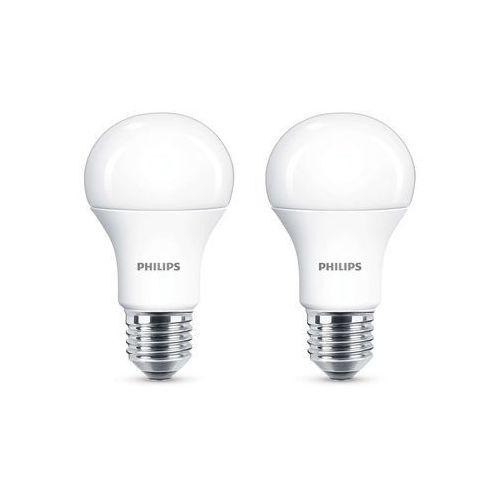 Żarówka LED Philips A60 11 W E27 1055 lm mleczna barwa ciepła 2 szt.