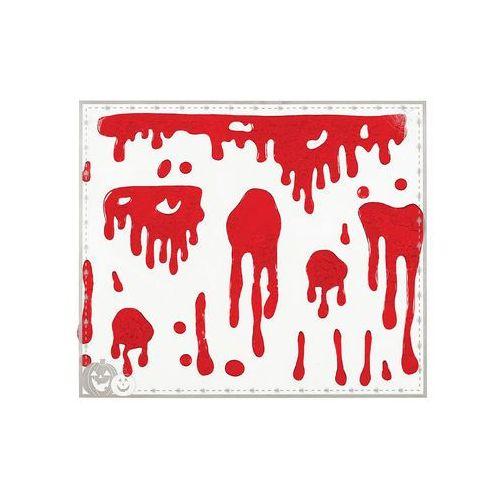 Krwawe naklejki żelowe - 1 szt. marki Guirca