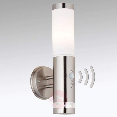 Brilliant Lampa ścienna zewnętrzna z czujnikiem ruchu bole g96131/82, 1x60 w, e27 (4004353110221)