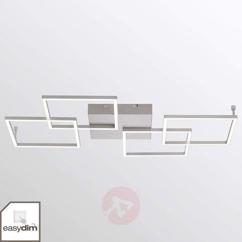 4-punktowa lampa sufitowa LED Inigo – podłużna (4012248321805)