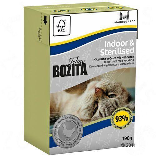 20 + 4 gratis! Bozita Feline, 24 x 190 g - Indoor & Sterilised (7300330020628)