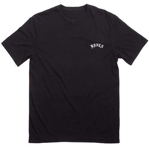 Koszulka - calles s/s prem tee black (black) rozmiar: l marki Brixton