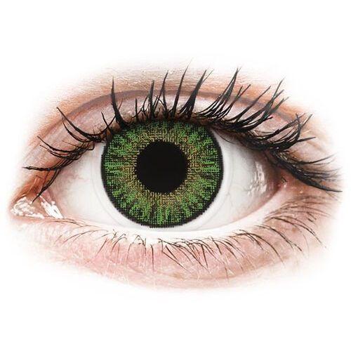 TopVue Color daily - Green - jednodniowe korekcyjne (10 soczewek)
