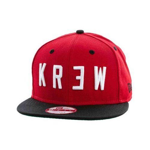 czapka z daszkiem KREW - Locker Era Snap Red/Black (RBK) rozmiar: OS, kolor czerwony