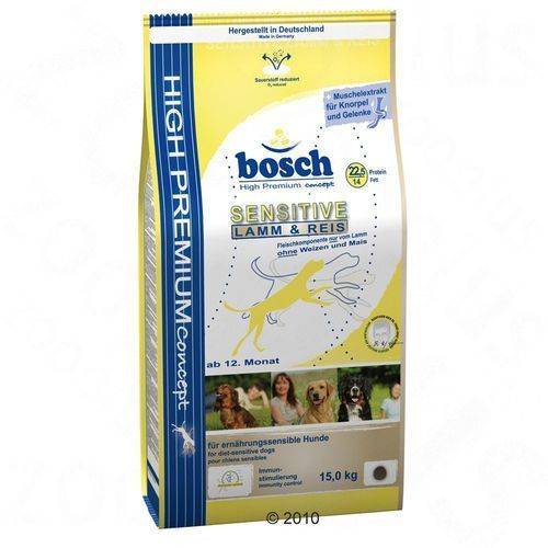 Bosch sensitive lamb & rice 3kg (4015598000895)