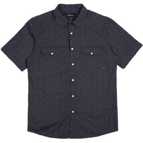 koszula BRIXTON - Wayne Washed Black 0141 (0141) rozmiar: M, kolor czarny