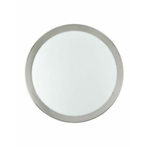 Plafon lampa sufitowa planet 2x60w e27 biały/nikiel 82941 marki Eglo