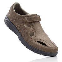 Buty z zapięciem na rzep Kappa bonprix brunatny, kolor brązowy