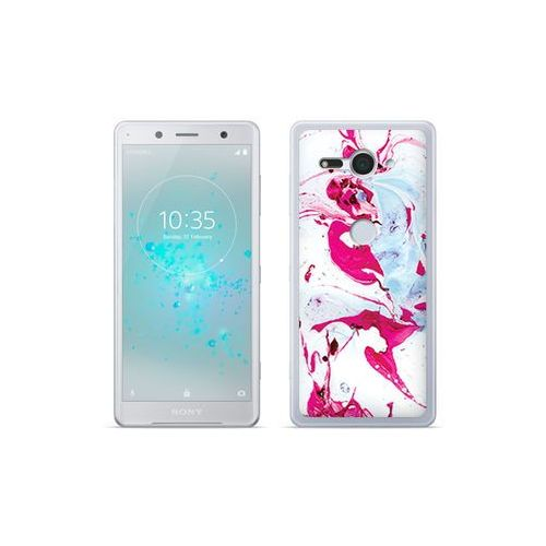 etuo Fantastic Case - Sony Xperia XZ2 Compact - etui na telefon Fantastic Case - różowy marmur