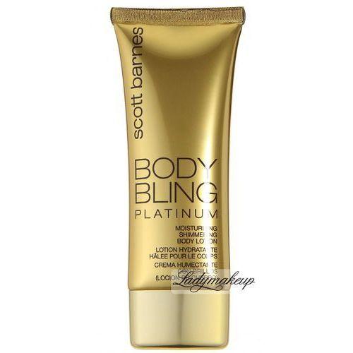 - body bling platinum - nawilżający, brązujący balsam do ciała - 120 ml marki Scott barnes