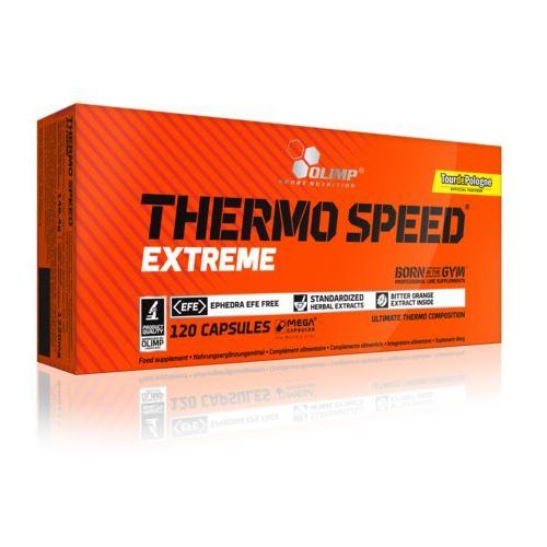 OLIMP Thermo Speed Extreme Mega Caps - 120 Kaps., 5901330023996