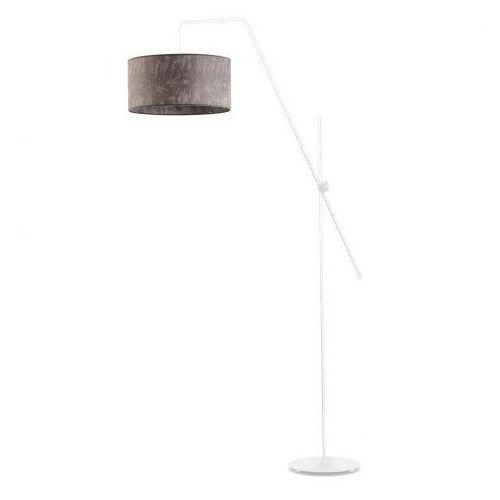 Lysne Nowoczesna lampa do salonu z włącznikiem nożnym bilbao
