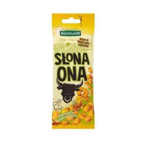 50g słona ona kukurydza prażona solona marki Bakalland