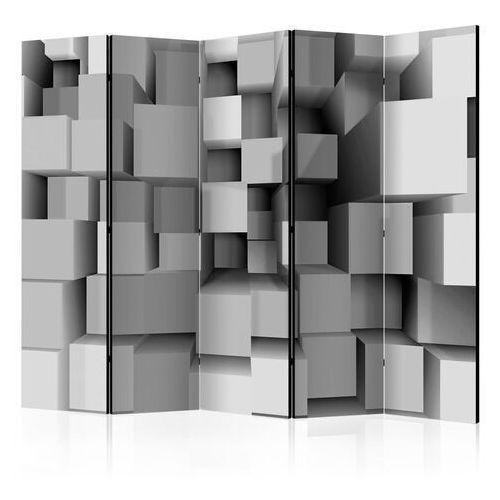 Artgeist Parawan 5-częściowy - geometryczne puzzle ii [room dividers]