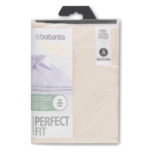 Brabantia - Pokrowiec na deskę do prasowania 110 x 30cm - pianka 2mm - Ecru (akcesoria do prasowania)