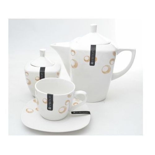 Claire komplet kawowy 17 elementowy (śr. 260) (5904134321381)