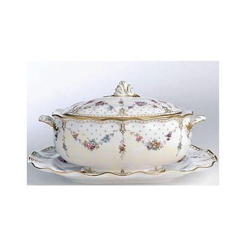 Royal Crown Derby Antoinette Waza z pokrywką 3,4l.