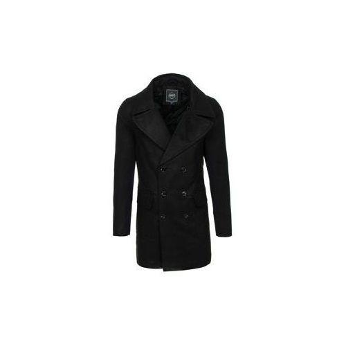 Płaszcz męski zimowy czarny denley 1048 marki J.boyz