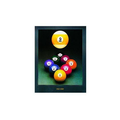 Plakat high nine 61*77 cm marki Dynamic billard