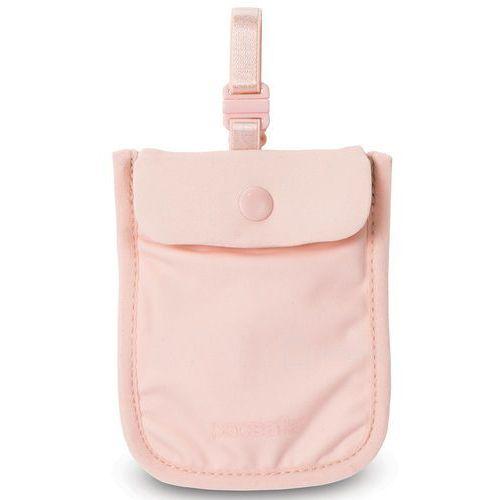 Pacsafe Coversafe S25 dyskretny damski portfel - Orchid Pink