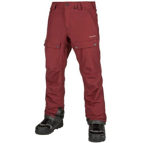 Spodnie - pat moore pant burnt red (btr) marki Volcom