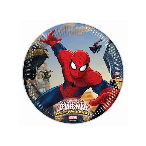 Talerzyki papierowe spider-man, 8 sztuk. marki Godan