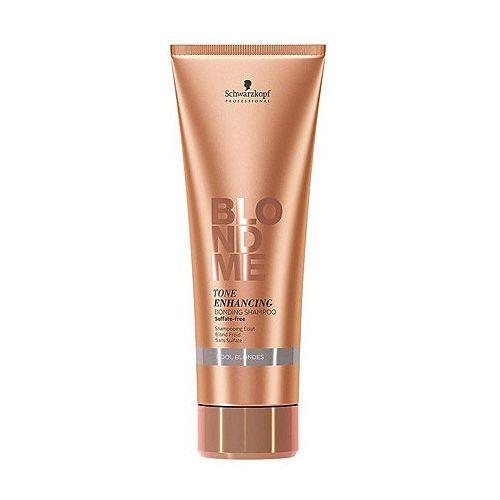 Schwarzkopf professional blondme szampon bez sulfatów do zimnych odcieni blond (tone enhancing bonding shampoo) 250 ml