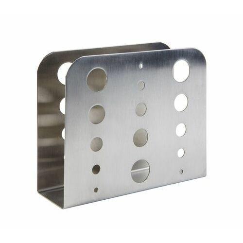 Serwetnik | stal nierdzewna satynowana | 150x45x(h)125mm marki Aps
