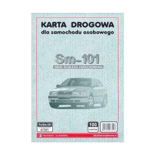 Karta drogowa samochodu osobowego [Pu/Sm-101]