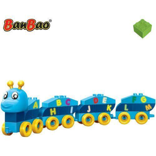 Klocki BanBao 9105 YoungOnes Gąsieniczka niebieska