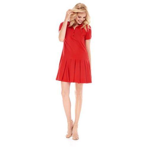 Sugarfree Sukienka marina w kolorze czerwonym