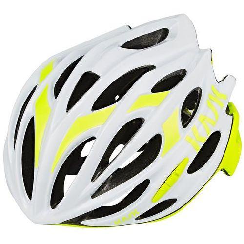 mojito16 kask rowerowy żółty/biały s | 48-56cm 2018 kaski szosowe marki Kask