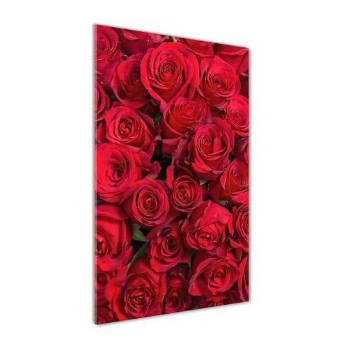 Foto obraz akrylowy do salonu Czerwone róże