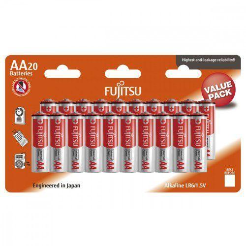 baterie alkaliczne lr6 aa 20 szt. blister marki Fujitsu