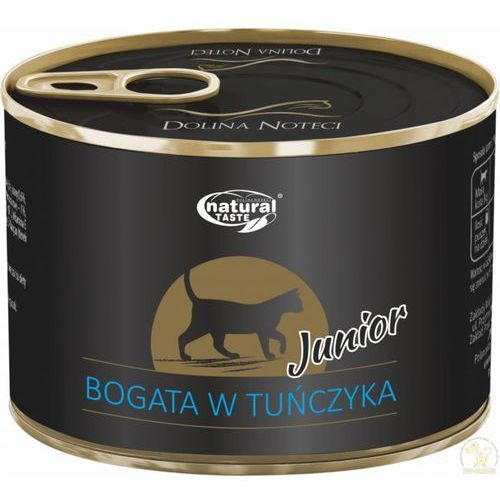 Natural Taste Cat Junior bogata w tuńczyka 185 g (5900842020189)