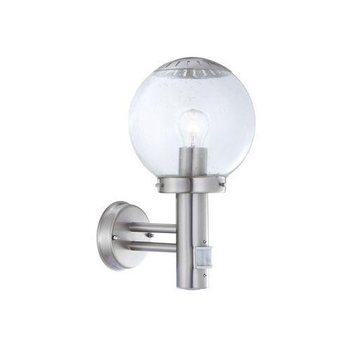 GLOBO 3180S - Kinkiet zewnętrzny z czujnikiem ruchu BOWLE II 1xE27/60W/230V - produkt z kategorii- Lampy ścienne
