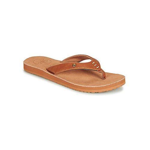 Japonki Cool shoe COASTAL, kolor brązowy