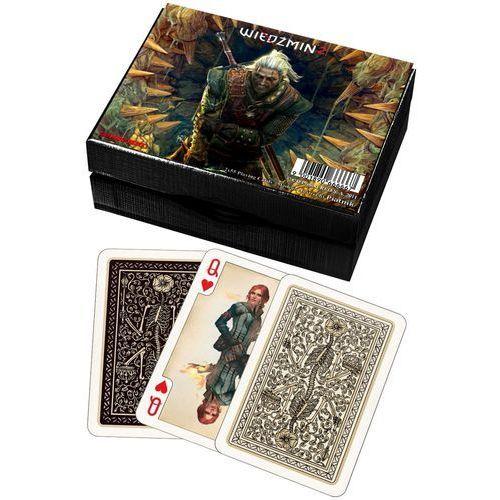 Piatnik Karty 2 talie lux - wiedźmin