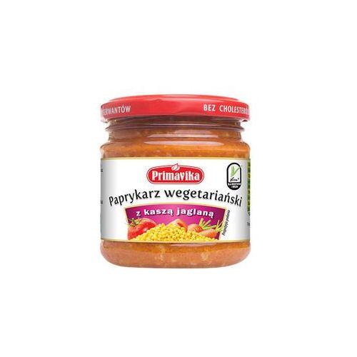 Paprykarz wegetariański z kaszą jaglaną BIO 170g - Primavika